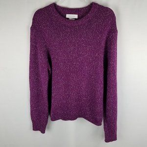 Urban Outfitters purple knit pullover sweater M